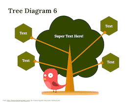 Keynote-Tree-Diagram-Set-9
