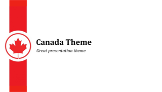 Canada Keynote Template