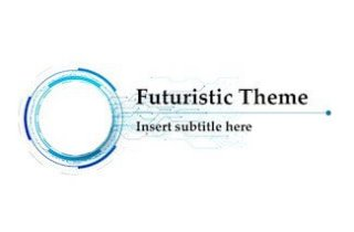 Futuristic Keynote Template - FREE