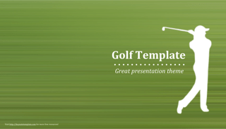 Golf Keynote Template