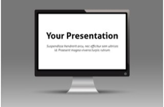Monitor Keynote Template