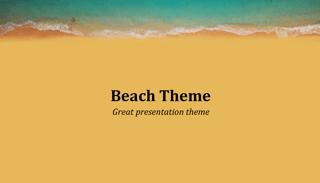 Summer Beach Keynote Template
