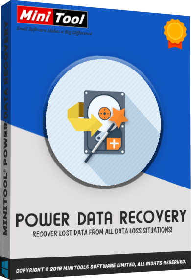 MiniTool Power Data Recovery 10.0 Crack Latest Download