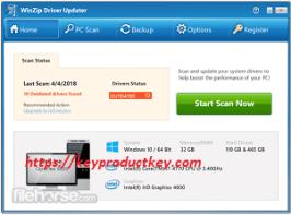 WinZip Driver Updater 5.31.4.2 Cracked Registration Key