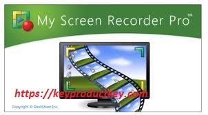 My Screen Recorder Pro 5 Crack & Activation Key 2020
