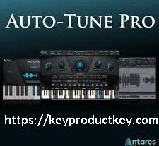 Antares AutoTune Pro 9.1.1 Crack & Full Activation Key 2020