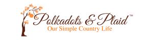 Polkadots & Plaid Fall Header