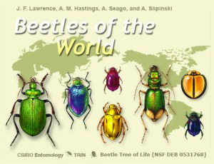 Beetles of the World home screen