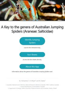 A Key to the genera of Australian Jumping Spiders (Araneae: Salticidae) home page