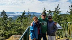Mt. Erie in Anacortes viewpoint