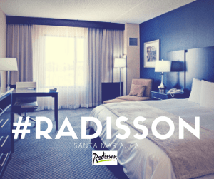 Wake up to luxury at The Radisson Hotel in Santa Maria, CA