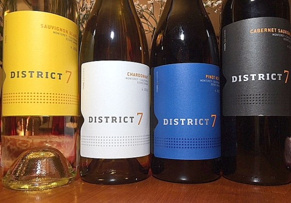 District 7 Wines Monterey County, CA