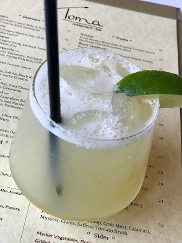Cocktail at Toma in Santa Barbara