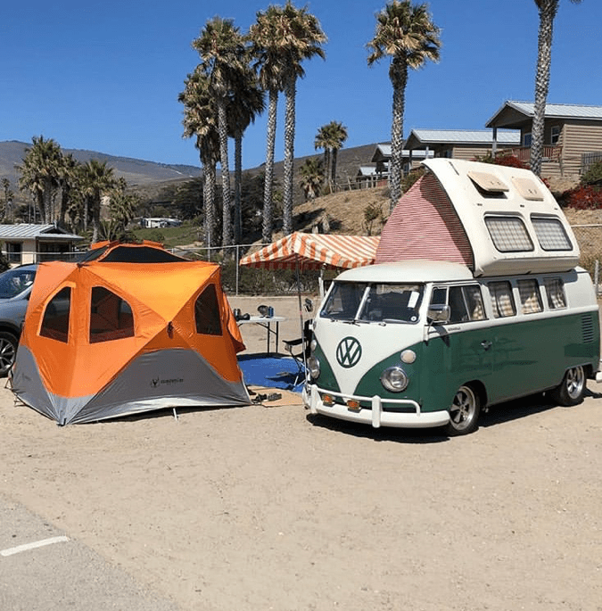 Camping and Cars at Cachuma Lake