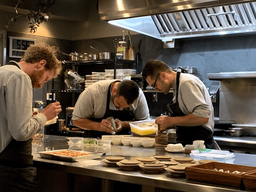 Six Test Kitchen Chefs