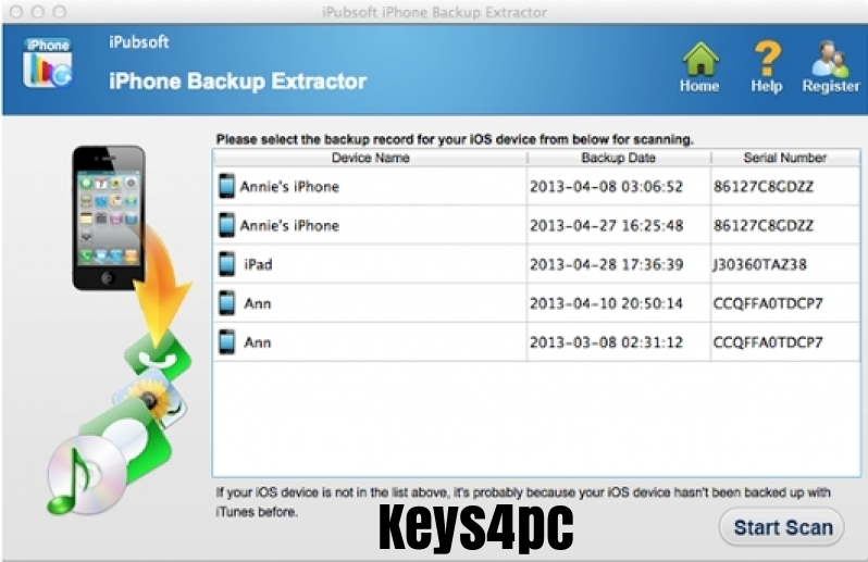 iPhone Backup Extractor 7.7.32 Build 4142 With Crack Free Download