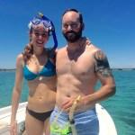 Couples Snorkel newfound harbor Keys Boat Tours