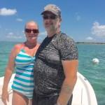 Couple snorkle tour Keys Boat Tours