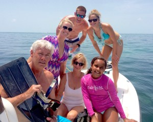 Family Snorkel outing with Keys Boat Tours