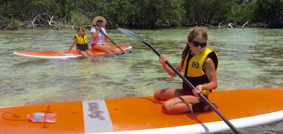 paddlebaording