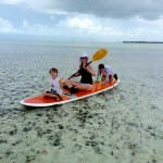 family paddle with Keys Boat Tours