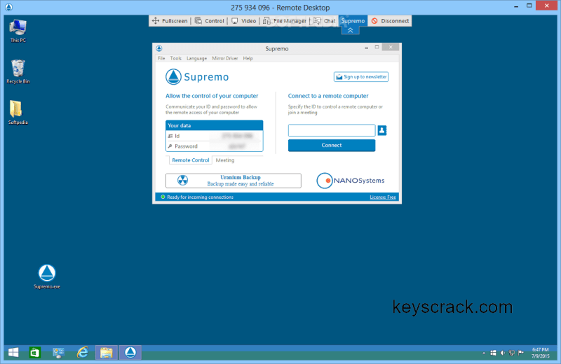 Supremo Remote Desktop 3.1.0.500 Key Torrent