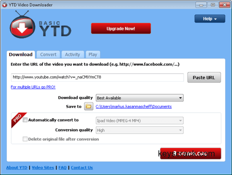 YTD Video Downloader Pro 6.7.29 Crack Torrent