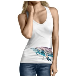 Dolphins Underwater by Kevin Dodge