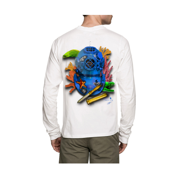 Blue Dive Helmet Long Sleeve