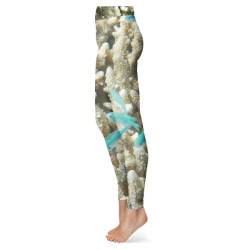 Coral Reef with Blue Fish Leggings
