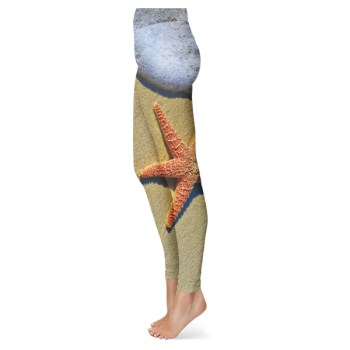 Beach Starfish Leggings