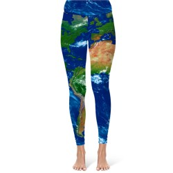 Earth Map Leggings