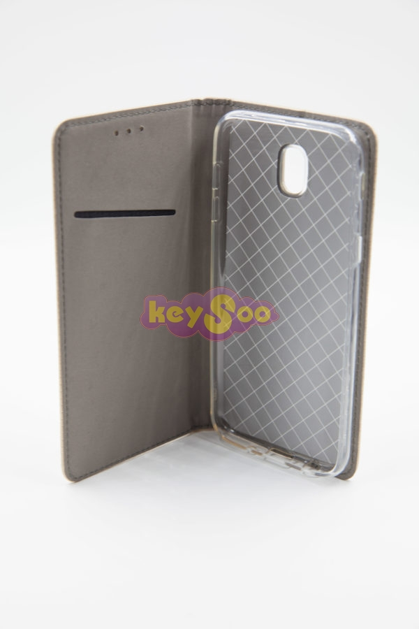 Smart Case Book gold - Samsung J5 2017
