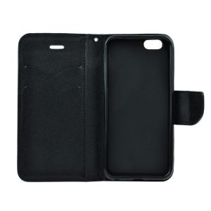 Fancy Book case black Galaxy J6+