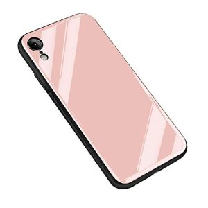 Glass Case pink iPhone XR
