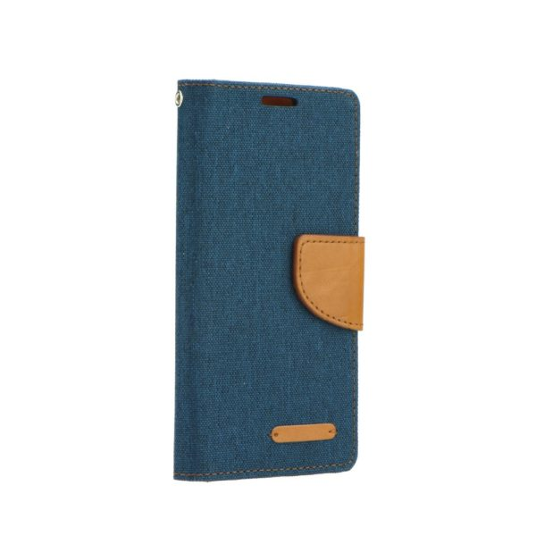 Canvas Book case navy blue Galaxy J6+