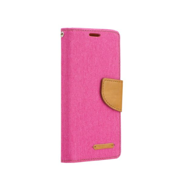Canvas Book case pink Galaxy J6+
