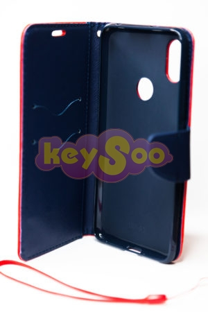 Fancy Book case red-navy Redmi S2