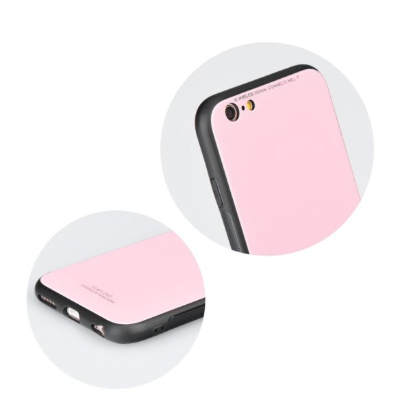 Glass Case pink Mate 10 lite