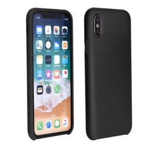 Forcell Silicone Case black - Galaxy A6+ (2018)