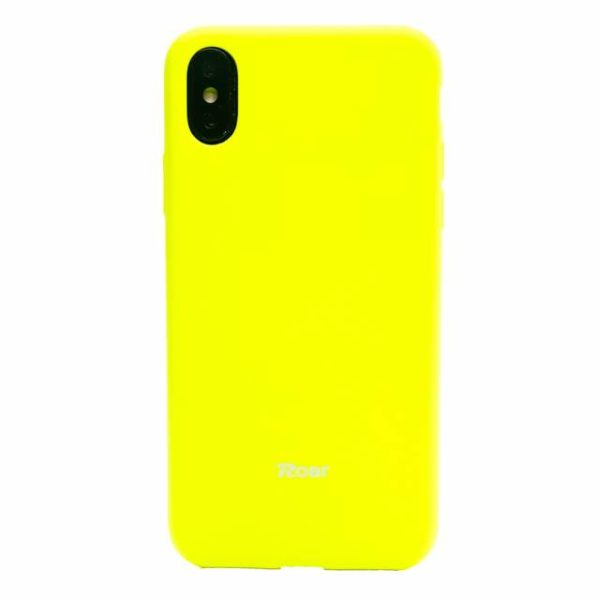 Roar Colorful Jelly Case yellow - iPhone 6/6s
