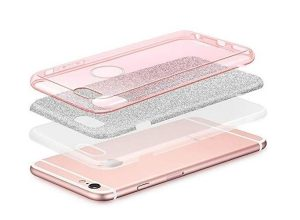 Forcell SHINING Case silver - iPhone 6/6s
