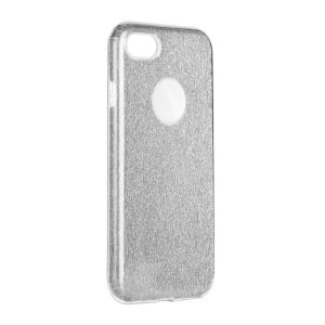 Forcell SHINING Case silver - iPhone 7 Plus