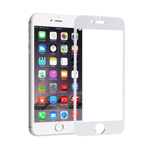 Zifriend 5D Tempered glass white - iPhone 6/6s