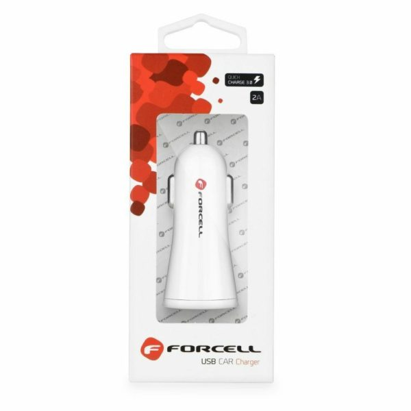 USB Car Charger 12V Forcell