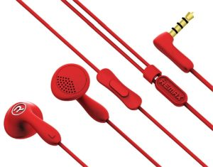 Earphones Remax RM-301 Candy red
