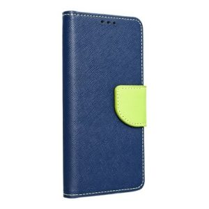 Fancy Book case navy-lime Huawei P40 pro