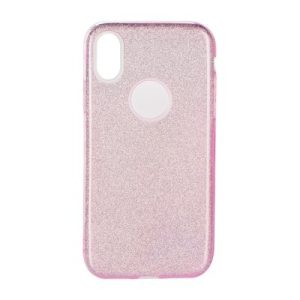 Forcell SHINING Case pink Huawei P40 lite