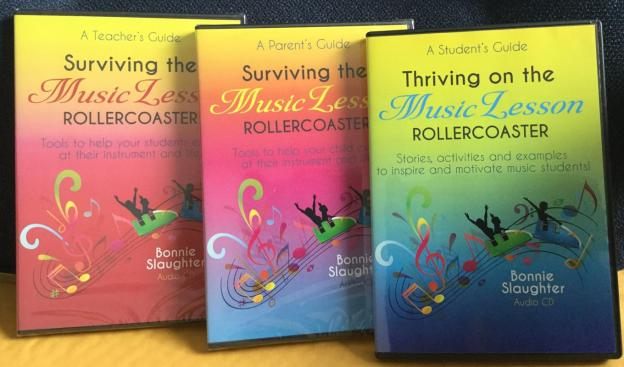 Surviving and Thriving the Music Lesson Rollercoaster