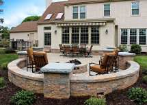 deck & patio masonry features